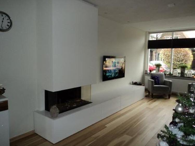Bekijk de foto van Mrloes met als titel Gashaard idee woonkamer en ...