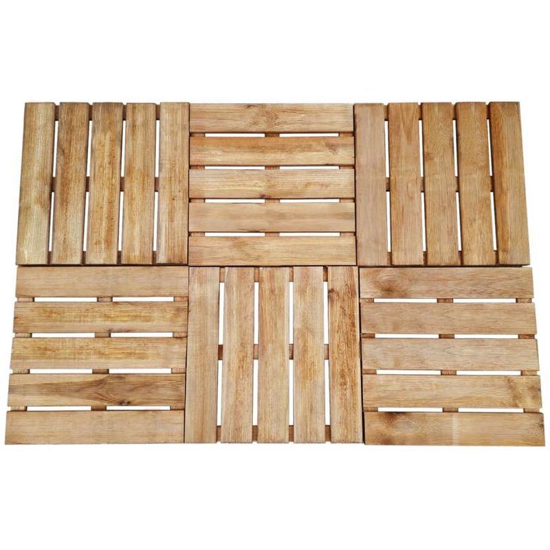 Lame De Terrasse Bois Et Composite In 2019 Wood Tiles Brown