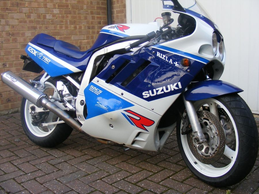Cool Sport Racing Bikes By Chavi Sharma: 1989 Suzuki Gsxr 750
