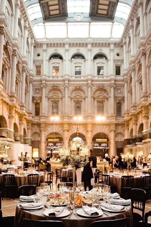 The Royal Exchange Gorgeous wedding venue