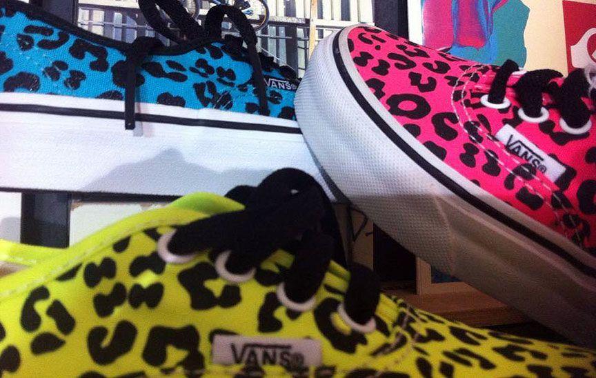 Para las niñas guapas!! http://www.kornerst.com/es/buscar?search_query=vans+leopard  #Vans #Leopard #Neon