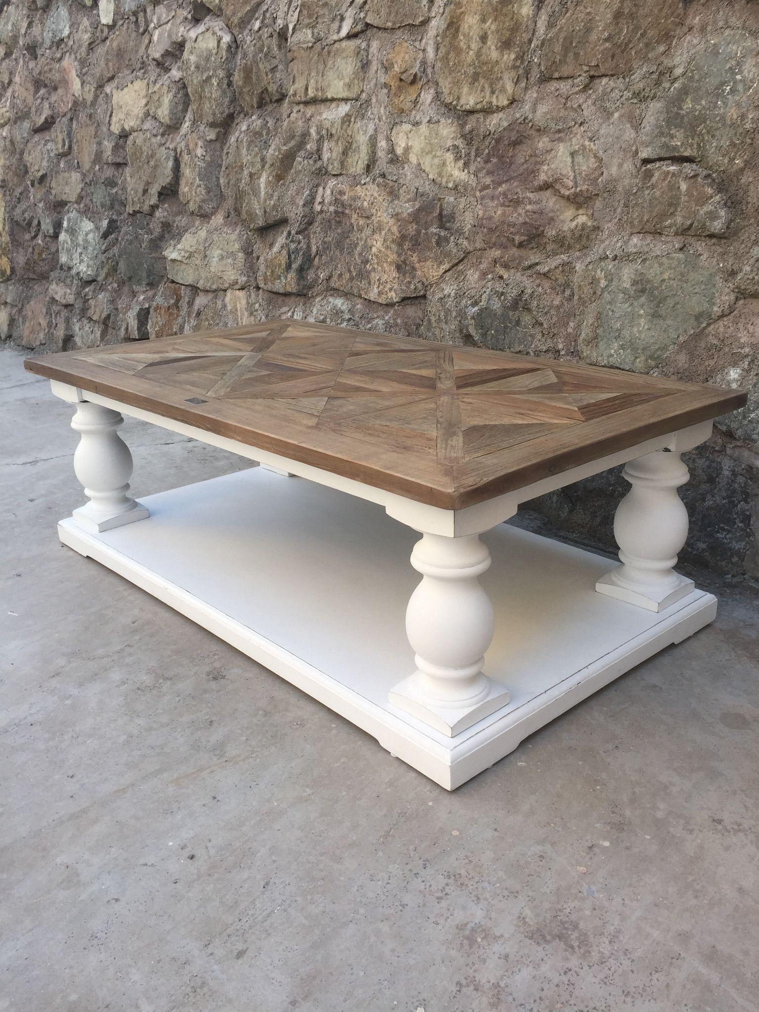 Dubai salongbord drivved hvit fra classic living https for Reclaimed wood furniture bend oregon