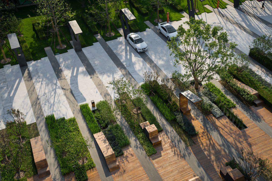 Beiqijia Technology District, Martha Schwartz Landscape