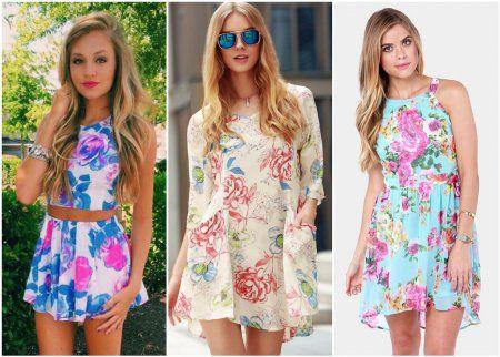 3fbf7fa6867 Модные платья весна-лето 2018