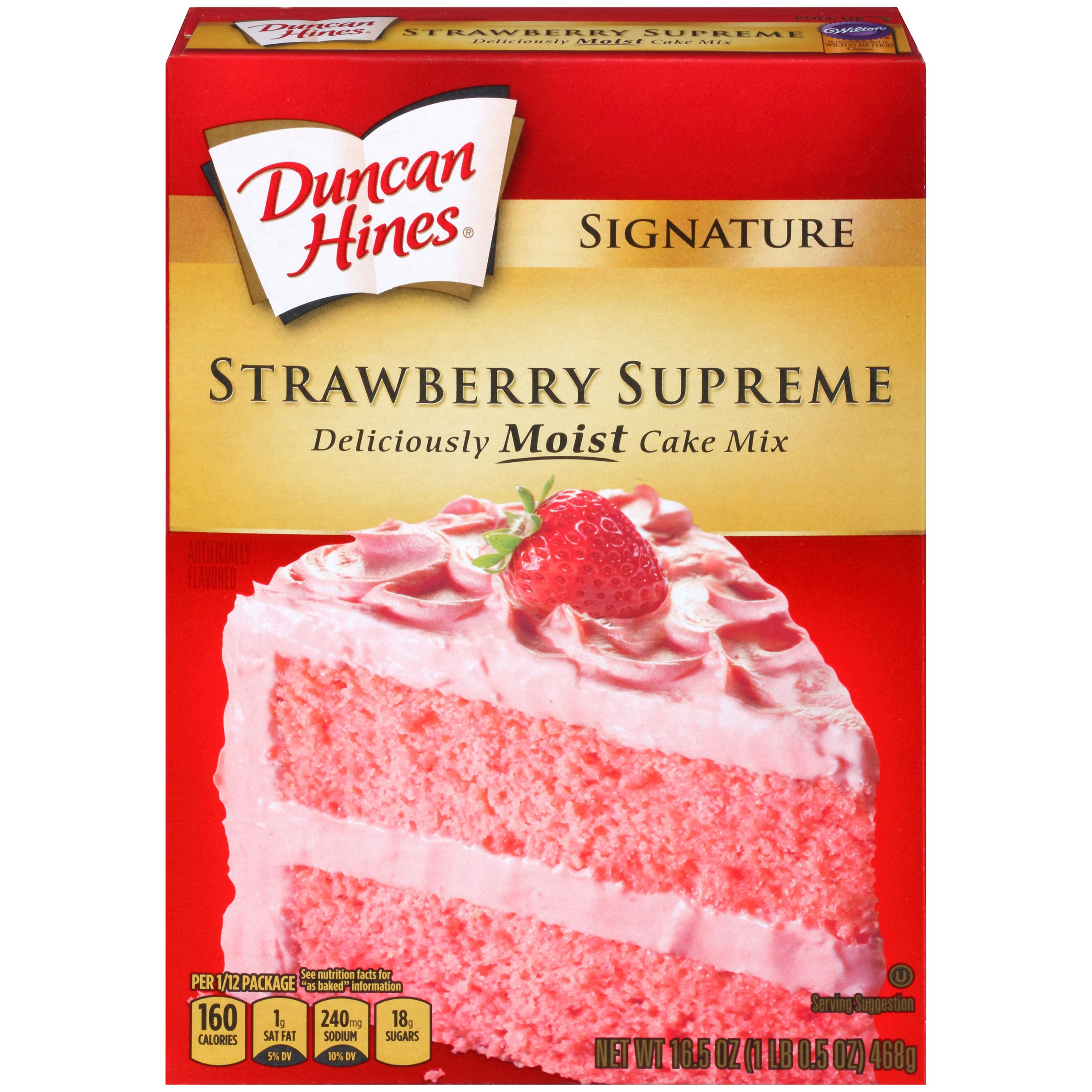 Signature Strawberry Supreme.Wilton® as recommended in Wilton Method ...