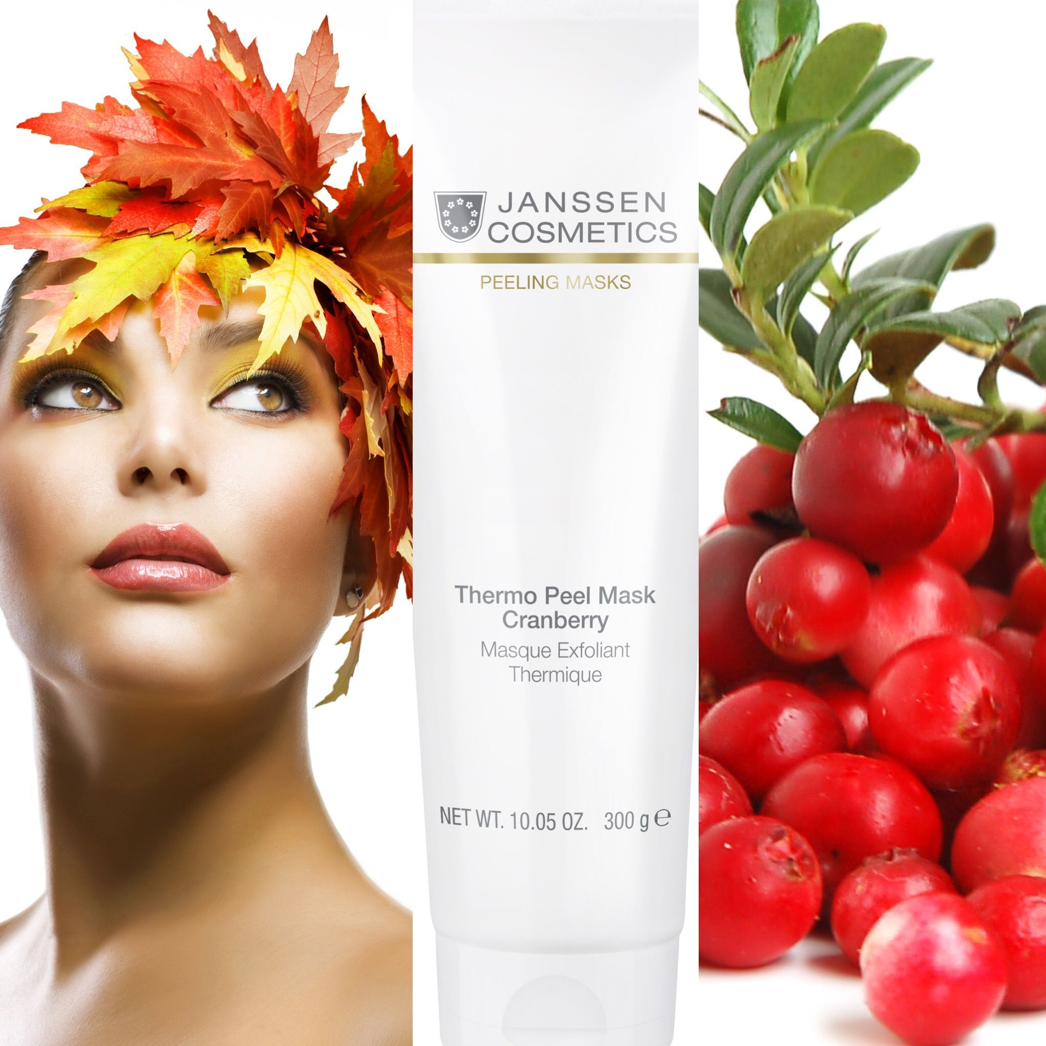 Treat Your Face This Fall To The Cranberry Thermo Peel Mask By Janssen Cosmetics This Masque Smooths And Hydrates Skin Hydrate Skin Peeling Mask Younger Skin