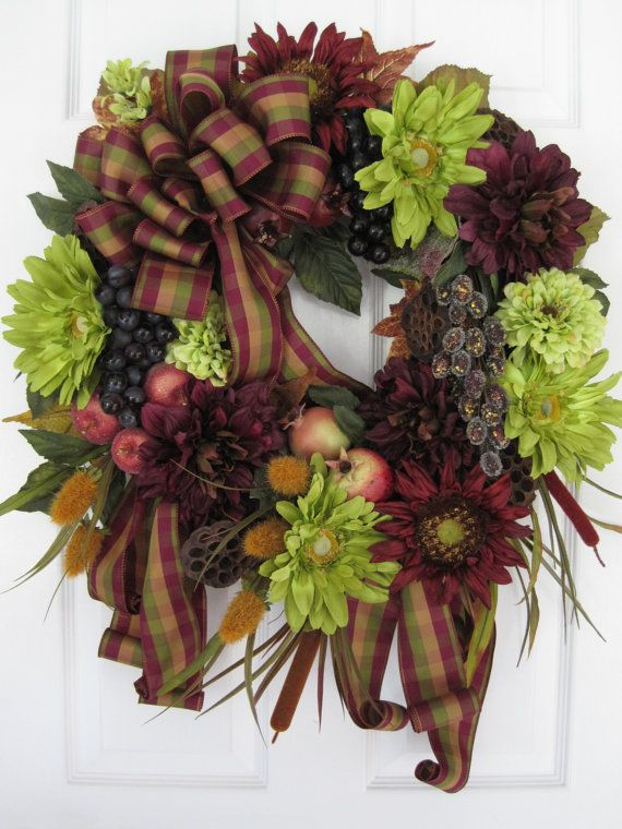 LA DOLCE VITA New Large Holiday Wreath Collection by funflorals, $120.00