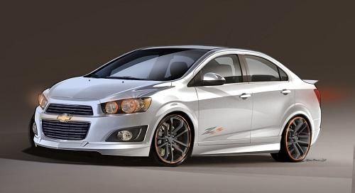 Chevy To Focus On Small Cars At Sema Chevrolet Aveo Coches