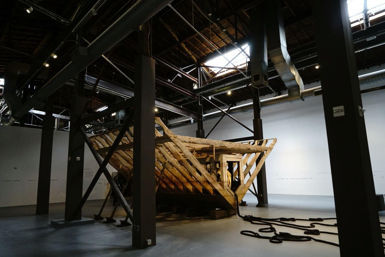 Matthew Barney - River of Fundament at the Geffen Contemporary / MOCA LA
