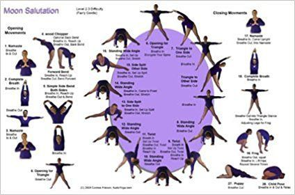 the moon salutation is designed to complement your sun