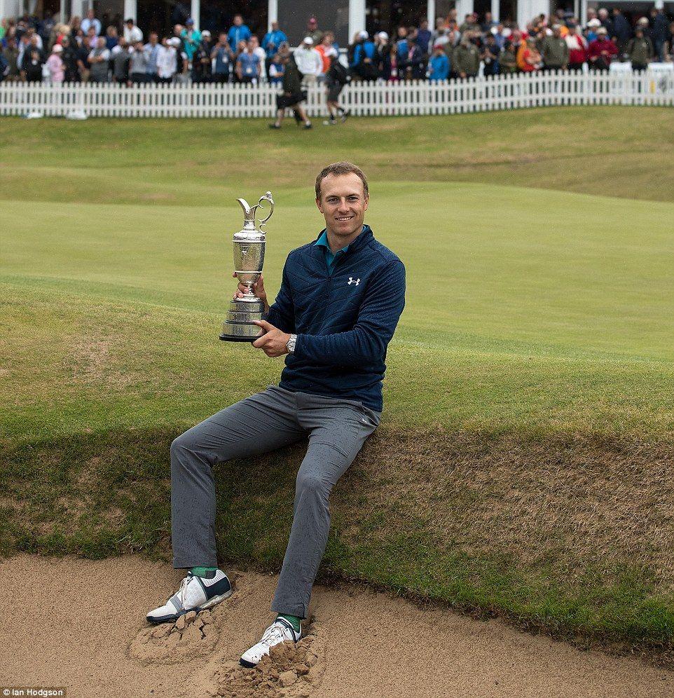 Jordan Spieth wins The Open at Royal Birkdale Golf tips