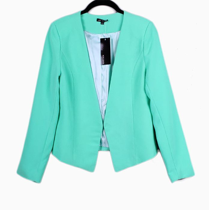 Mint Light Weight Crepe Jacket