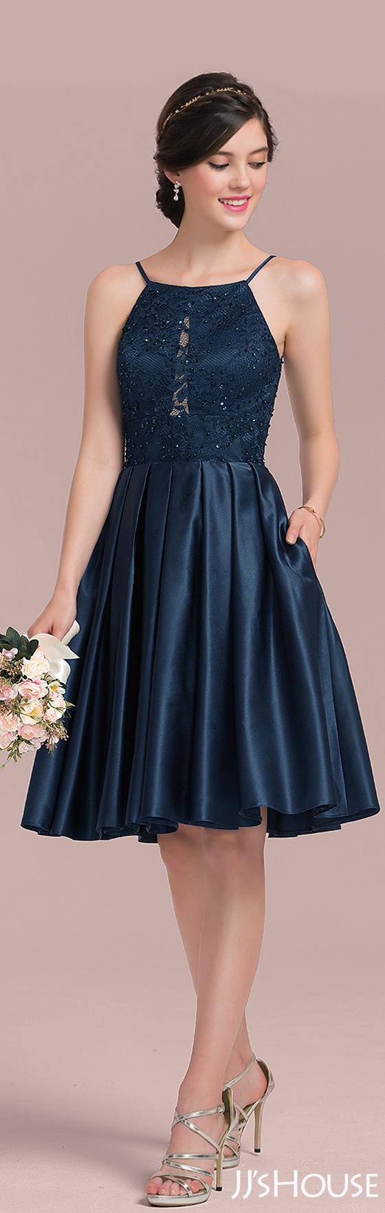 Modern and classic bridesmaid dress! #JJsHouse # Bridesmaid