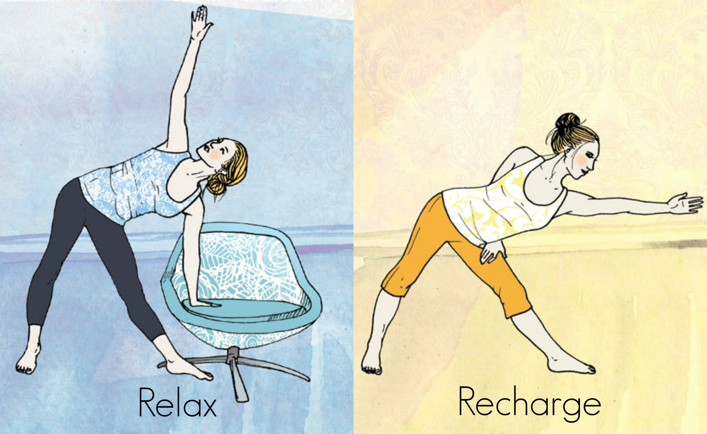 6 Yoga Poses To Fire You Up—And 6 Poses To Calm You Down