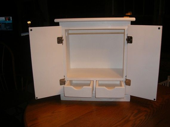 Genial 18 Inch Doll Armoire/Wardrobe For American Girl Doll By Lanning83, $75.00
