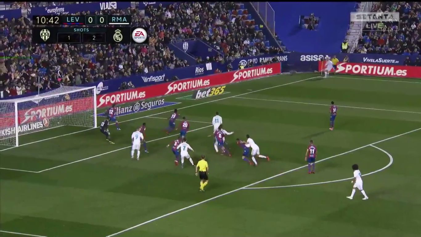 Levante Real Madrid La Liga Genis Mac Ozeti Izle 03 Subat 2018 Real Madrid Madrid Mac