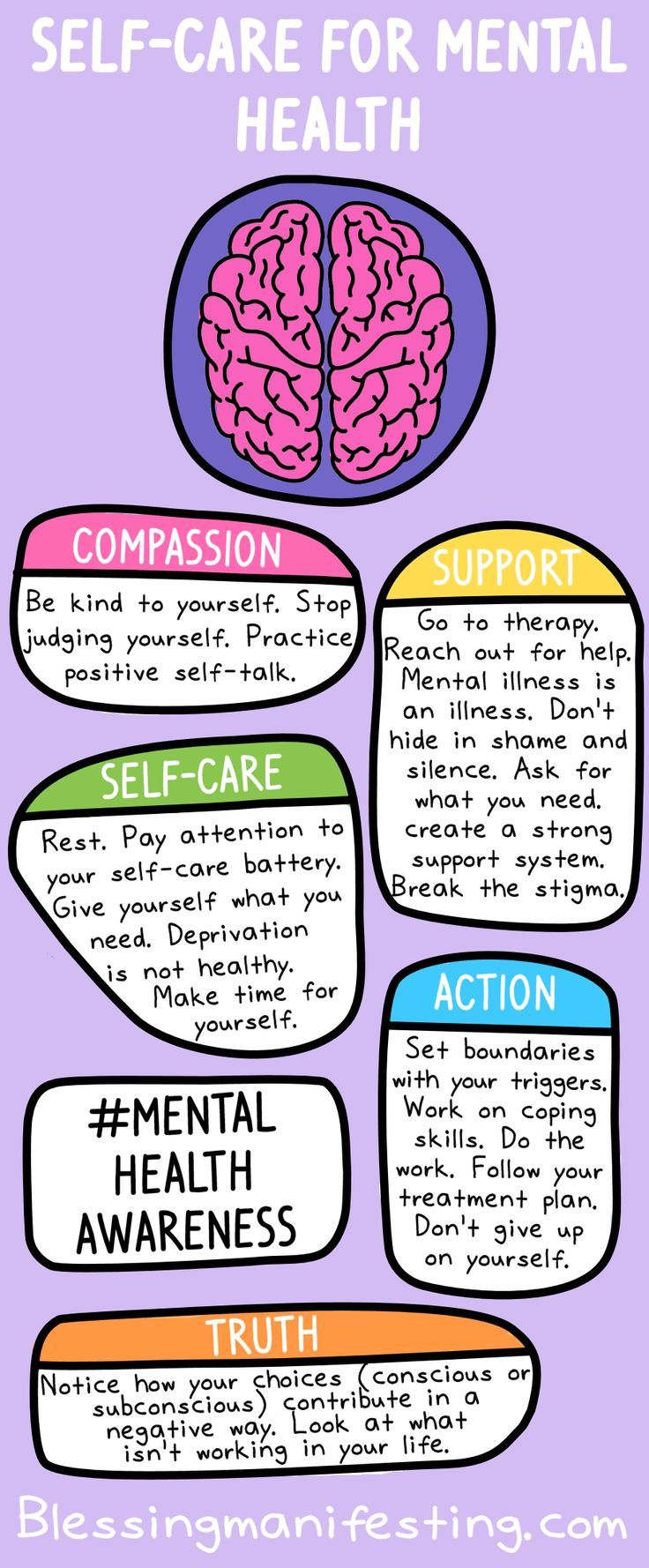 Self-Care for Mental Health | Mental health help, Good ...