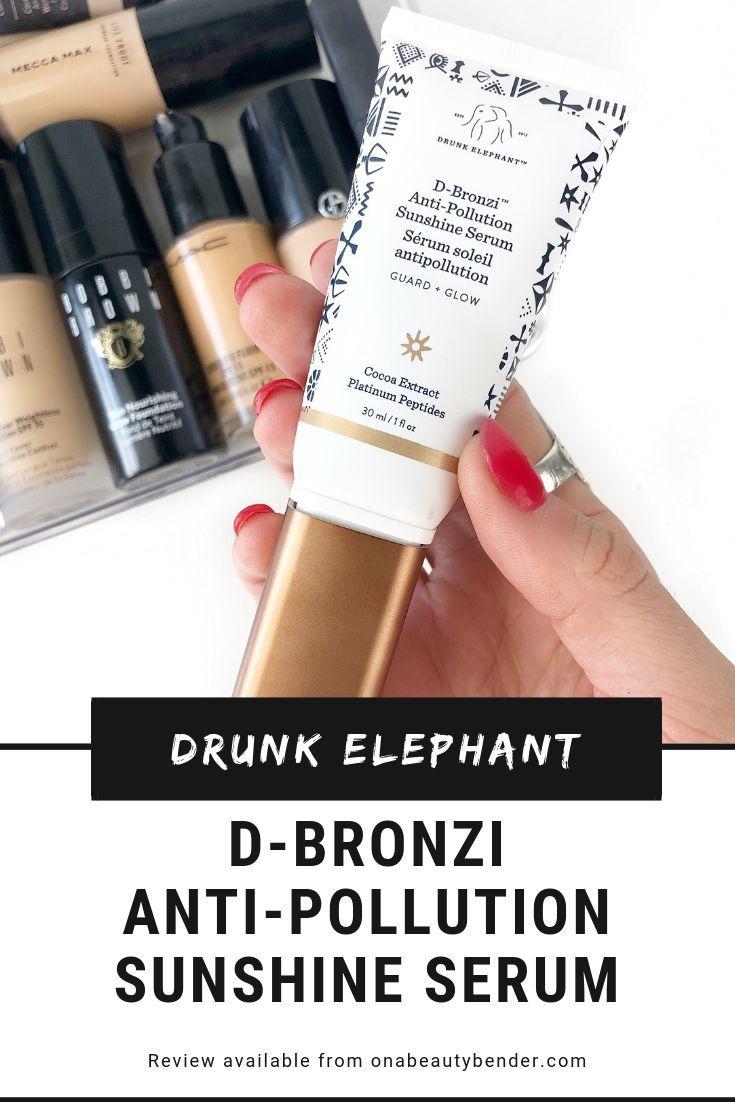 D-Bronzi Anti-Pollution Sunshine Drops by drunk elephant #12