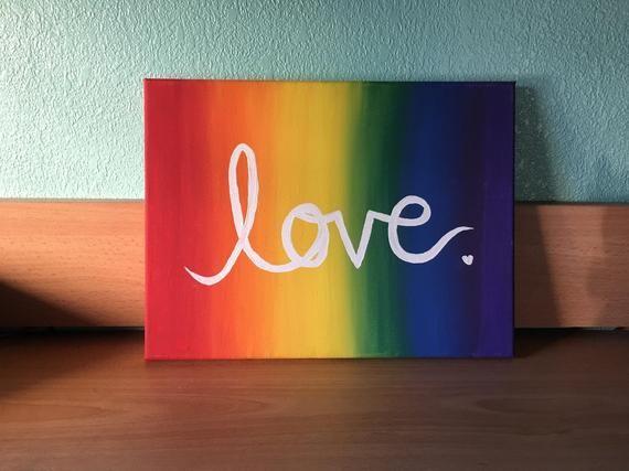 Pride Love Painting