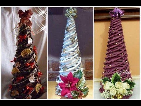 How to make Christmas tree by paper, easy 5 minutes for kids, Xmas