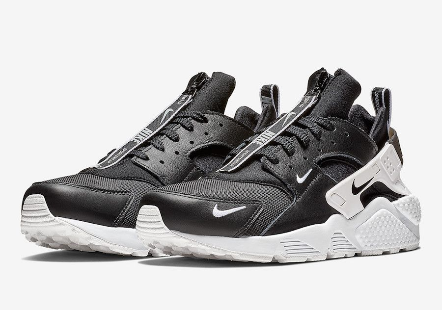 ab92bc13ab1e Nike Air Huarache Zip Black