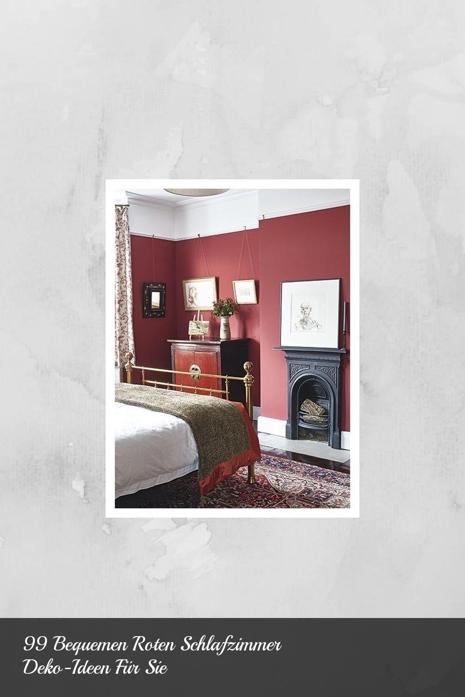8 Bequemen Roten Schlafzimmer Deko-Ideen Für Sie  Schlafzimmer