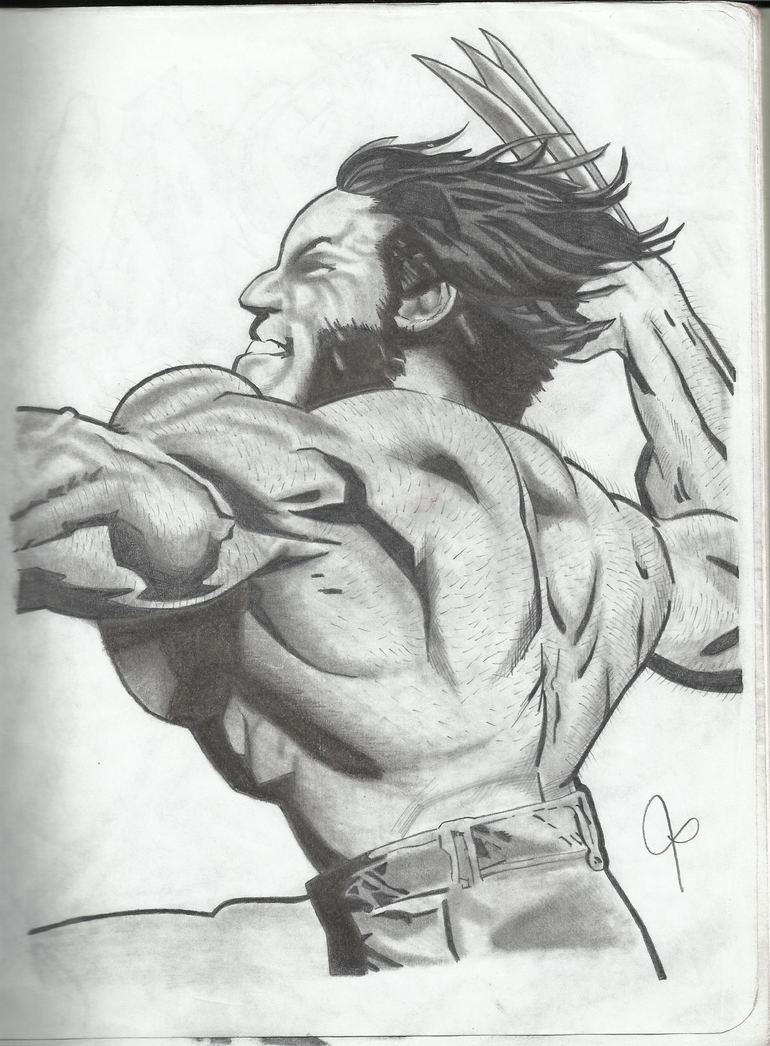 Wolverine  Dibujos a Lapiz  Pinterest  Marvel