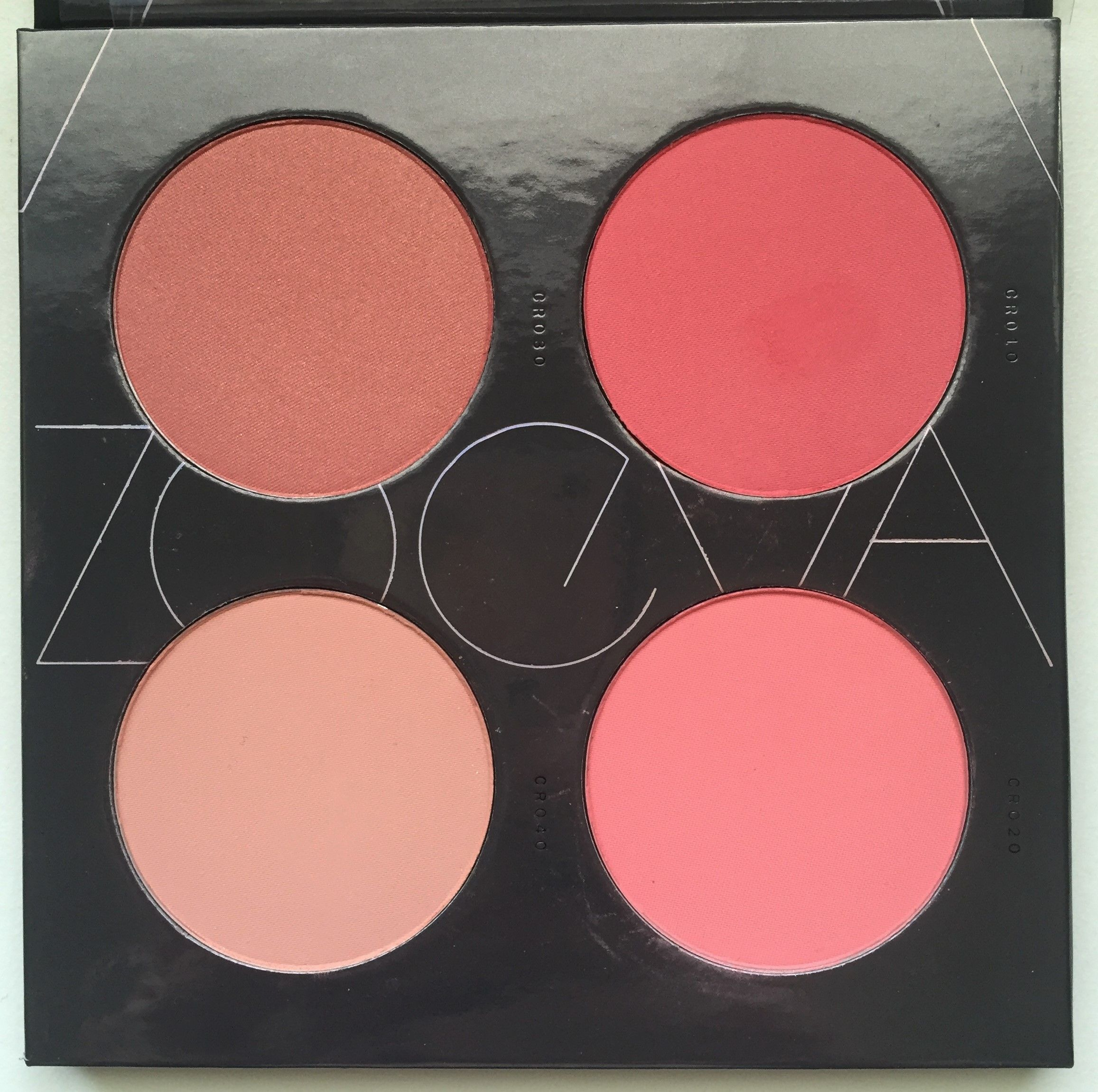 Zoeva Coral Spectrum Coral makeup, Best makeup products