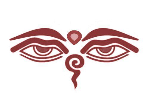 Buddha Eyes Tattoo Inspiration Pinterest Buddhist Symbols