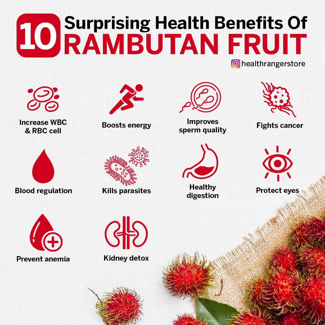Amazing health benefits of rambutan health benefits