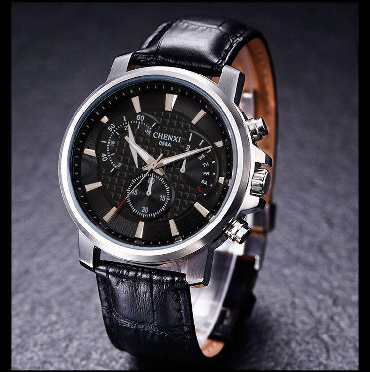 CHENXI Fashion Dress Business Watch Men Waterproof  Watches  Men's Simple Casual Quartz Analog Clock Male montre homme #Affiliate