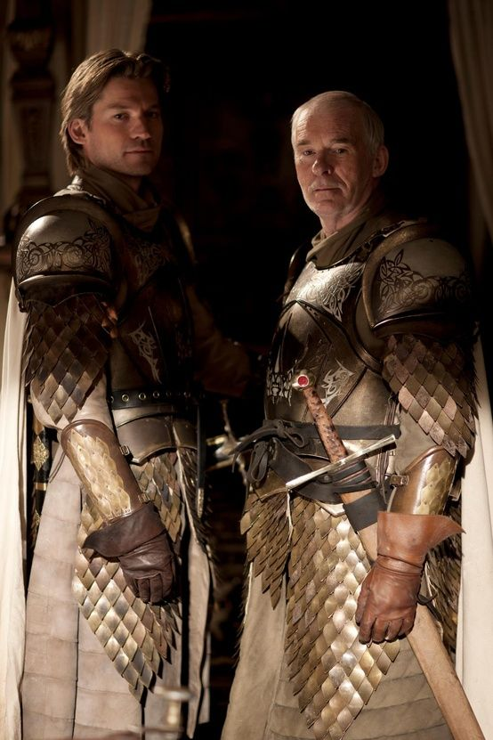 Jaime Lannister and Ser Barristan Selmy