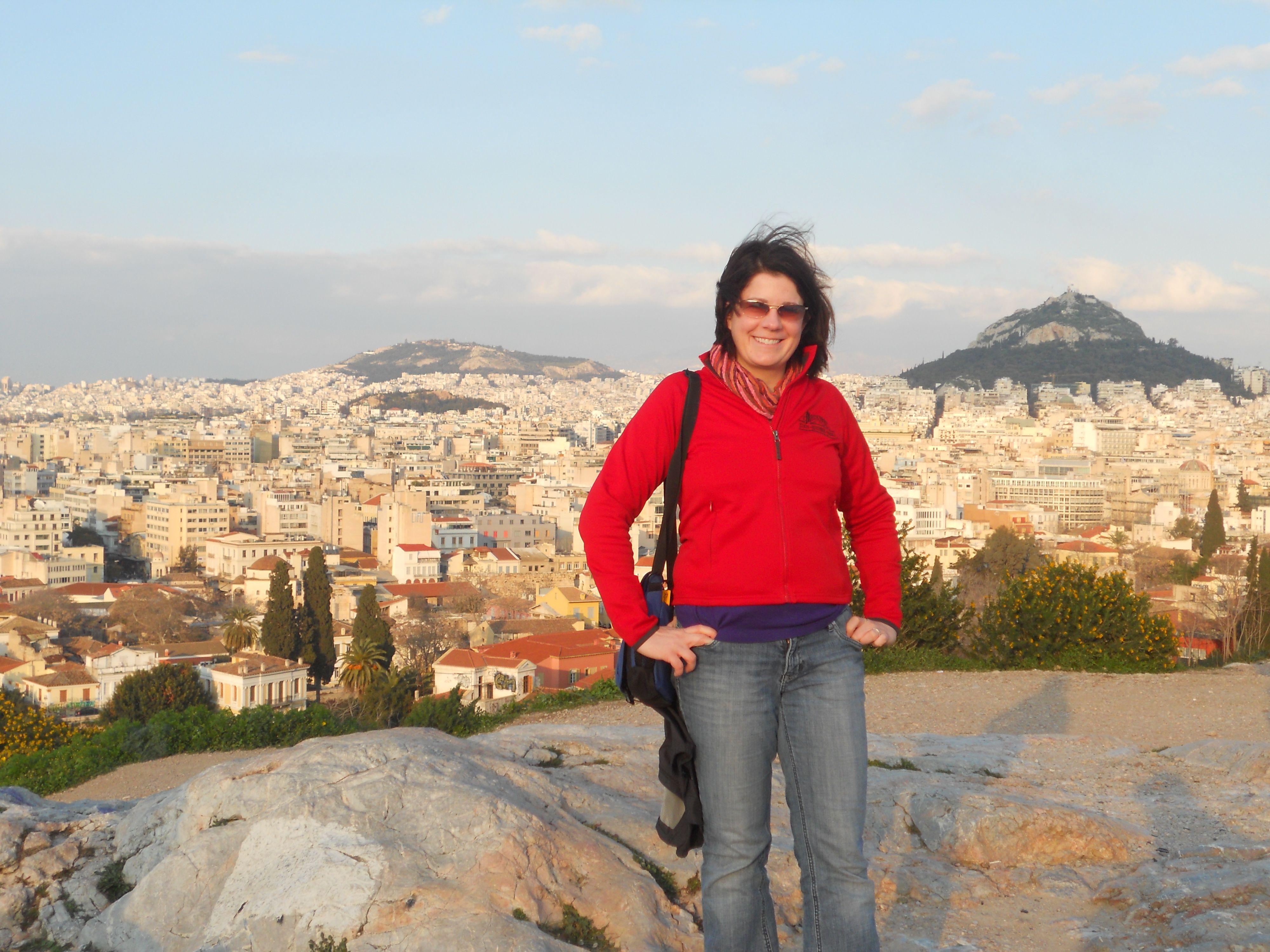 Mars Hill, Athens, Greece.