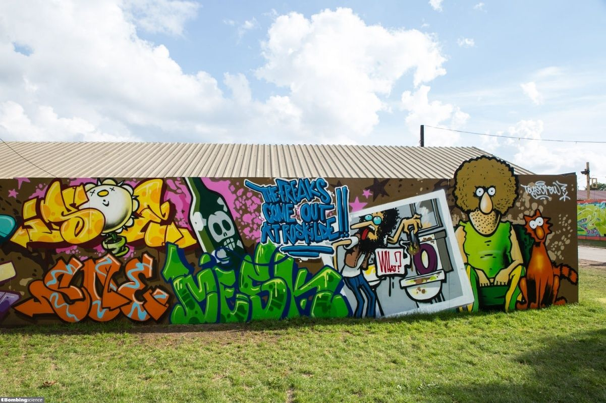 Roskilde / Walls Graffiti. Do you like the graffiti? Now check out all the bombing pictures on our site.