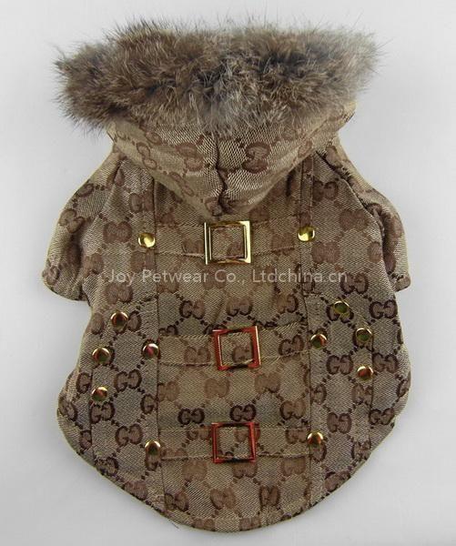 af26510c7d43 Gucci dog coat