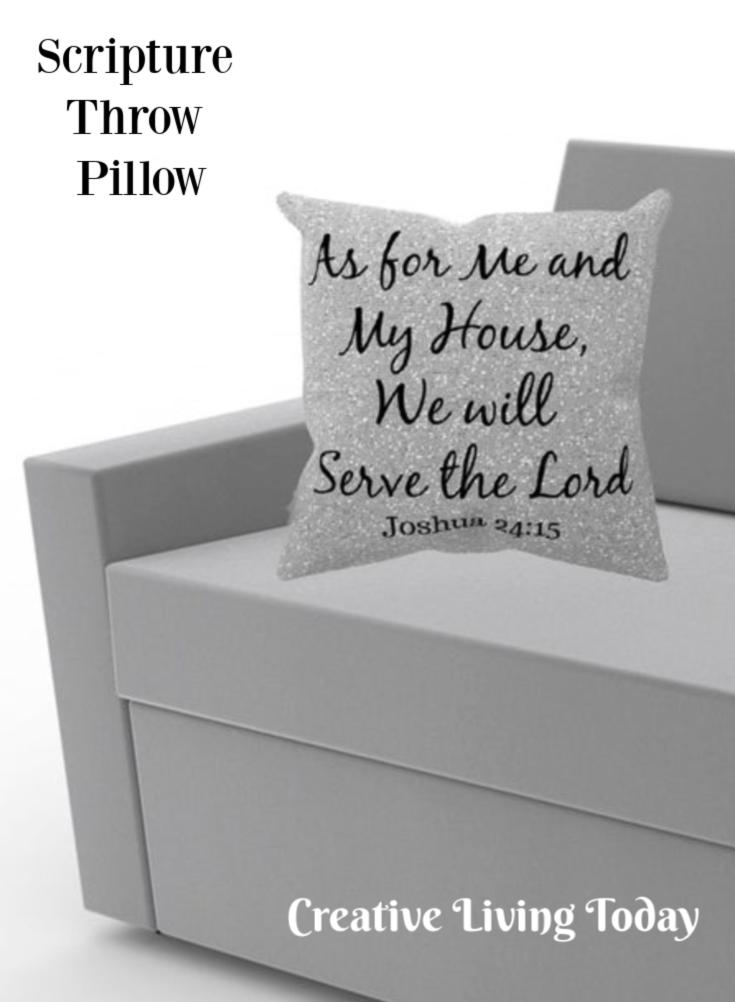 Pillows With Sayings Throw Pillow Christian Decor With Quote Etsy Throw Pillows Christian Pillows Christian Decor