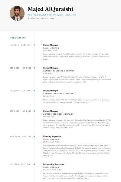 Management Resume Project Manager Resume Example  Private  Pinterest  Sample
