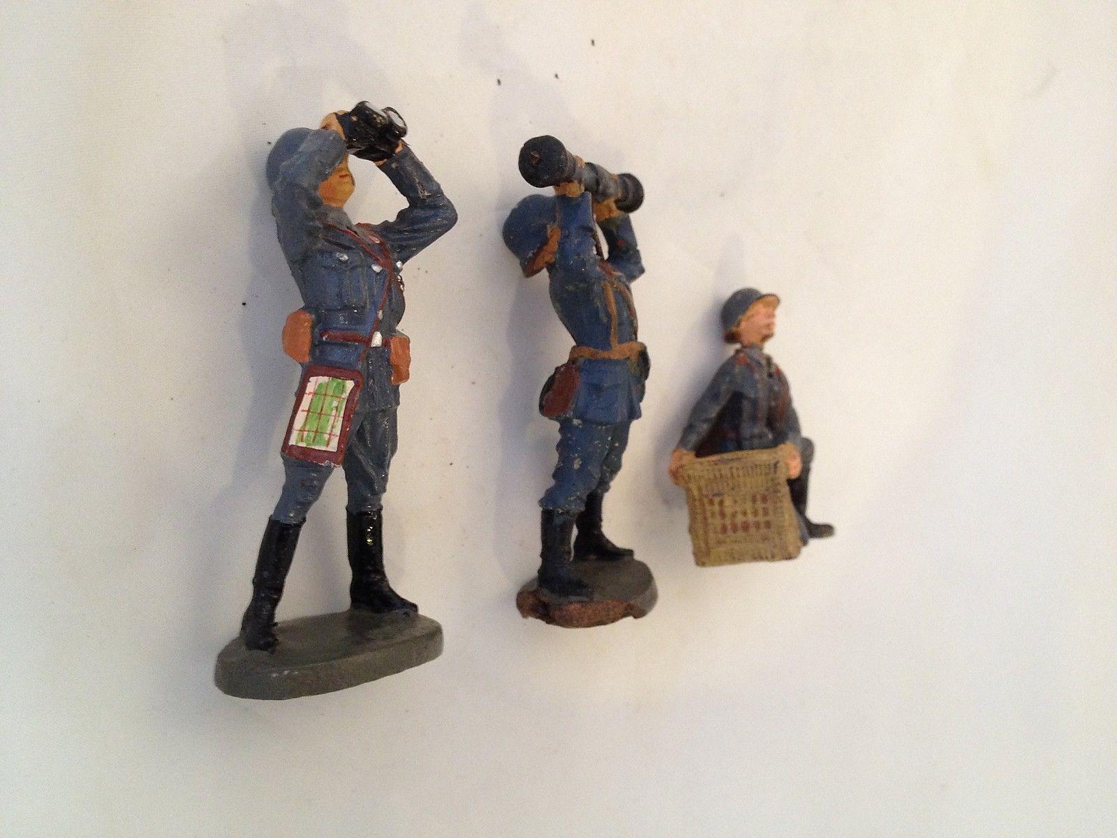 B37/ Hausser Elastolin Luftwaffe Figuren 2 Wk. von ca. 1935 | eBay