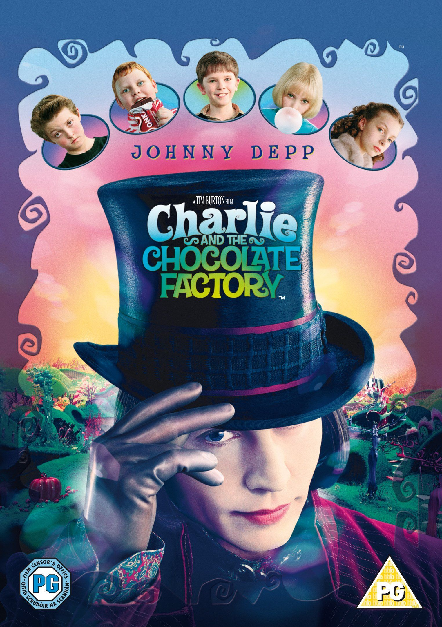Charlie And The Chocolate Factory Edizione Regno Unito Reino Unido Dvd Factory Edizione Charlie Y La Fabrica De Chocolate Johnny Depp Fábrica De Chocolate