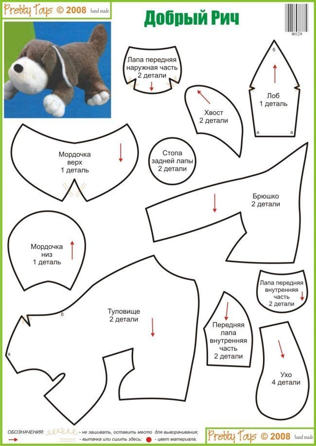 hondje kijk voor vilt op http://www.bijviltenzo.nl | Patterns ...