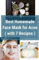 You Definitely Need These Homemade AllNatural Face Mask Recipes