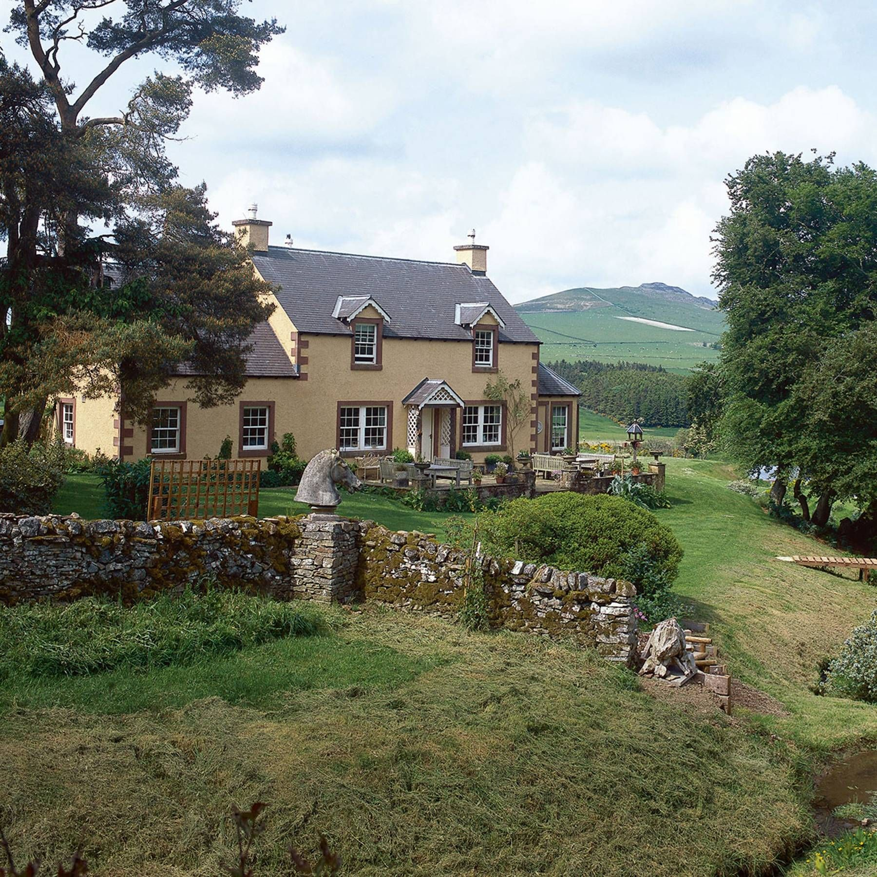 An artist's house in the Scottish borders in 2020 Artist