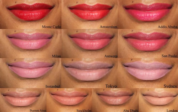 Nyx Soft Matte Lip Cream Swatches On Dark Skin - Google -9059