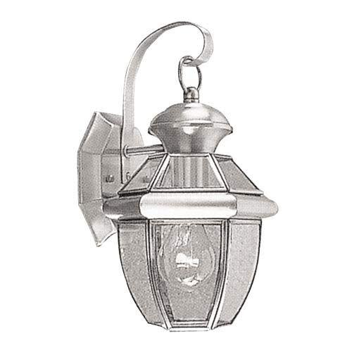 Monterey Brushed Nickel One-Light Outdoor Fixture