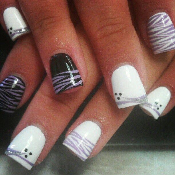 Uñas mixtas | coco | Pinterest | Diseños de uñas, Manicuras y Arte ...