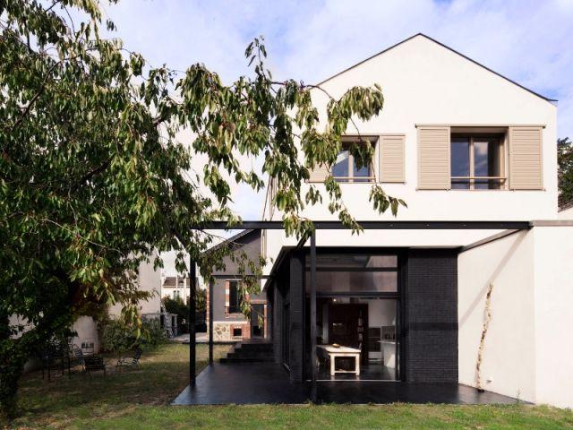 avant apr s une maison de ville triple sa surface gr ce une extension extension houses. Black Bedroom Furniture Sets. Home Design Ideas