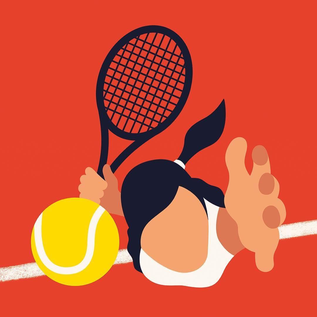 Francesco Ciccolella Tennis Art Tennis Drawing Cute Art