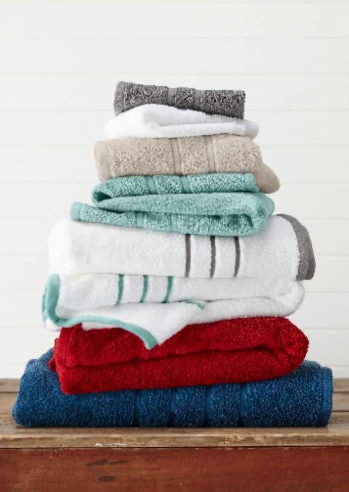 Luxury Cotton Bath Towels Made In Usa American Craft Towels By