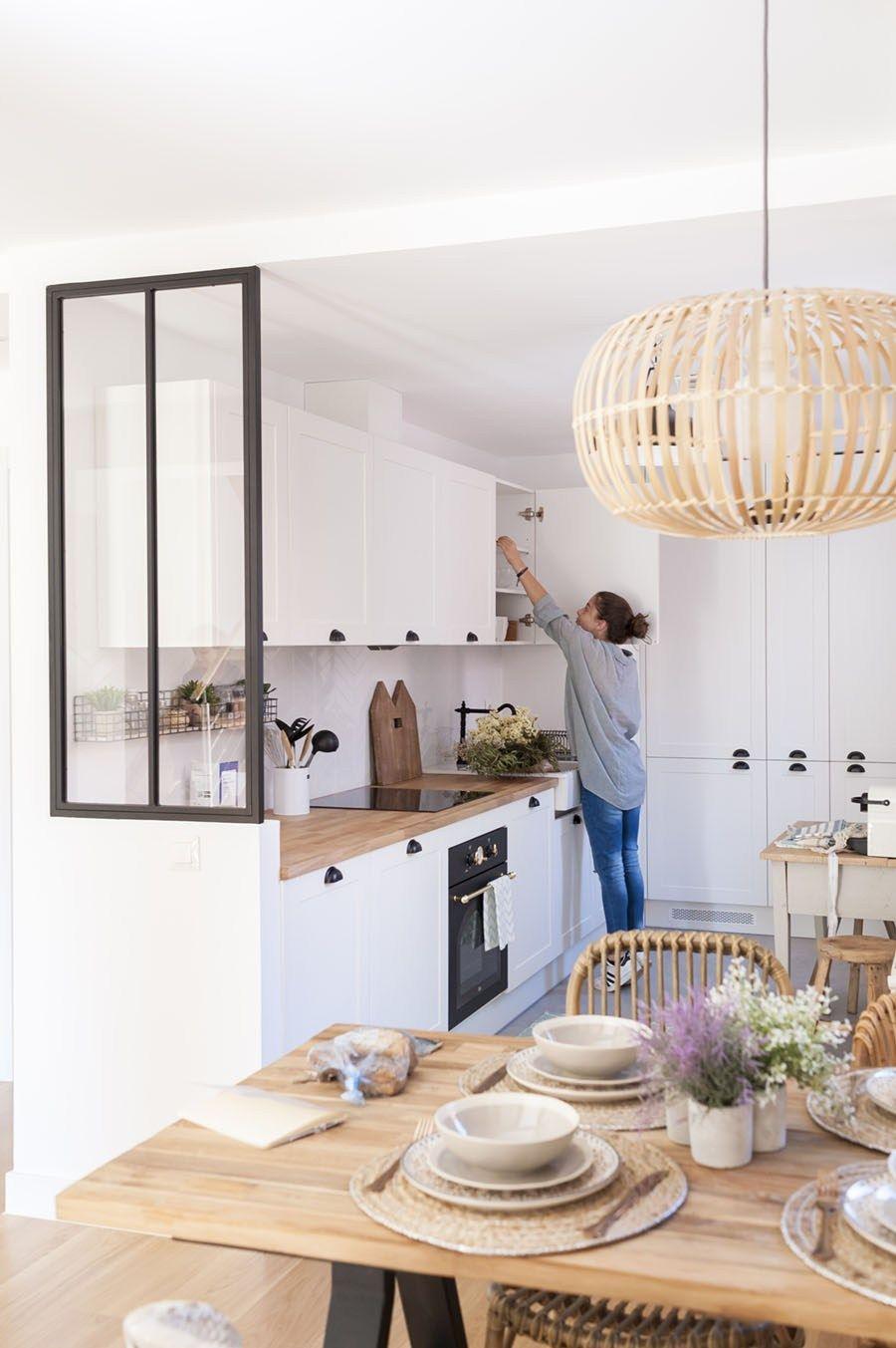 Küche und esszimmer designs un joli appartement pour séjourner à madrid  lights  pinterest