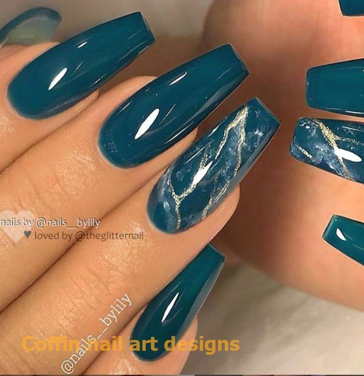 Coffin nail arts